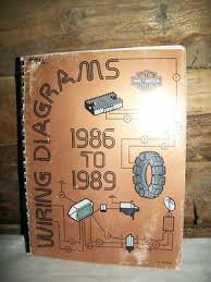 eclecticak genuine 1986 89 harley davidson wiring diagrams manual genuine harley davidson technical communications dealership service department wiring diagram book for all 1986 to 1989 models part 99948 89