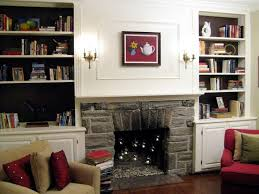 amusing built in bookshelves around tv floating shelves around tv bookshelves with fireplace