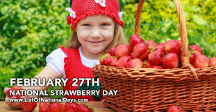 Image result for national strawberry day