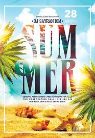 Summer Party Flyers Summer Party Flyer Psd Free Insaat Mcpgroup Co