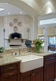 Kitchens With Farmhouse Sinks Kitchen Farm Sinks For Kitchens Together Voguish Farmhouse Sink
