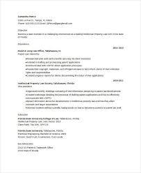 Patent Attorney Resume Template