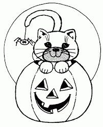 Small Picture black cat and witch coloring pages hellokidscom black cat