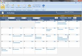 Microsoft Office Access Templates Access Template Screenshots Crm Template Screenshots