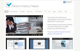 Web Design Helper Patient History Helper Highmark Designs