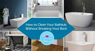 how to clean your bathtub without breaking your back bellenza weddings and parties