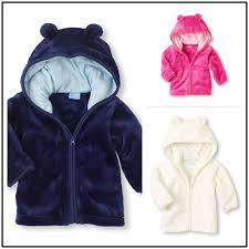 details about newborn infant baby boy girl long sleeve c fleece warm winter coat outerwear