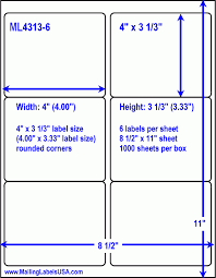 Avery 3 1 3 X 4 Template Avery 4 X 3 Labels Under Fontanacountryinn Com