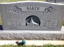 Genevieve Rhodes Baker (1903-1999) - Find A Grave Memorial