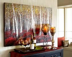 pier 1 red birch trees wall art
