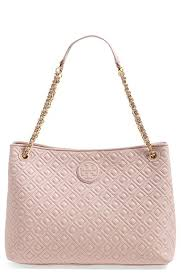Tory+Burch+'Marion'+Diamond+Quilted+Leather+Tote+available+at+# ... & Tory Burch Marion Quilted Diamond Leather Tote in Light Oak -- Nordstrom Adamdwight.com