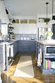 Diy Kitchen Cabinets Makeover 5 Two Toned Diy Kitchens The Weathered Fox