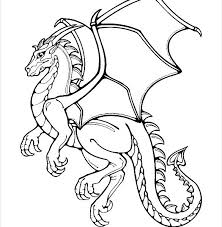 template of a dragon dragon drawing pictures at getdrawings com free for personal use