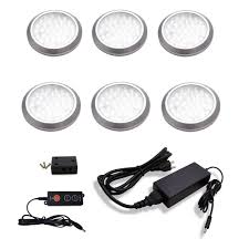 Black And Decker Under Counter Lighting 5 Light Led White Ac Puck Light Kit Cigit Karikaturize Com