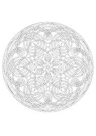 Free Printable Mandala Coloring Pages For Adults Pdf