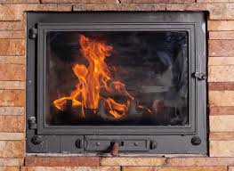 what is the best way to clean fireplace glass