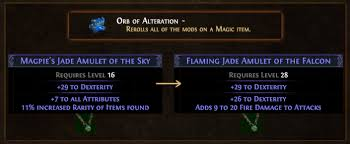 Orb Of Alteration Farming Orb Of Alteration To Chaos