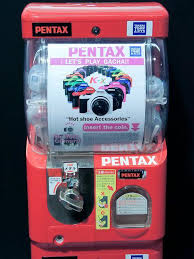 Vending Machine Capsule Stunning Toy Capsule Vending Machine With Mini Pentax DSLR JOSHUAONGYSCOM