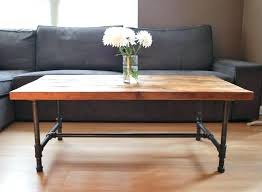 steel pipe furniture. Steel Pipe Furniture. Furniture Fittings Wood Coffee Table With Legs Made Of Reclaimed E