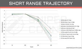 Unusual 308 Ballistics Chart 50 Yard Zero 223 Ballistics