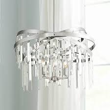 possini euro ellie 21 wide chrome crystal chandelier