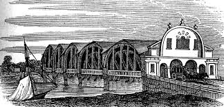 Structure Magazine Trenton Bridge First Bridge Across The