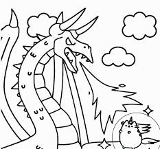 Printable Unicorn Coloring Pages Beautiful Cute Color Pages
