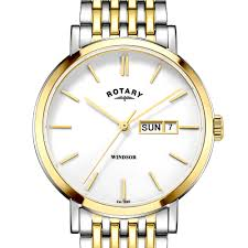 rotary classic and contemporary ladies and gents watches rotary rotary windsor two tone gold plated watch
