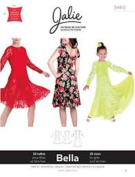 Fit And Flare Dress Pattern Adorable Amazon Jalie Bella Scoop Neck Dancing Fit And Flare Dress