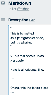 How To Format Your Text In Trello Trello Help