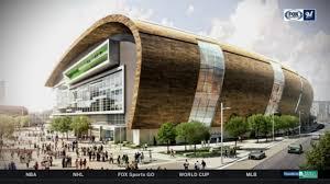 Watch Take A Tour Of The Milwaukee Bucks New Arena