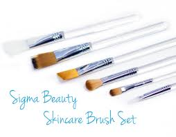 sigma beauty skincare brush set review