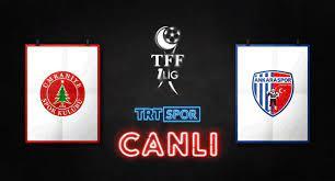 TRT Spor - #CANLI   TFF 1. Lig'de 31. hafta heyecanı…...
