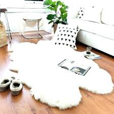 sheepskin rug costco great indoor rugs on white area ideas decorating 9