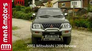 2002 Mitsubishi L200 Review - YouTube