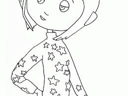Small Picture Coraline Coloring Pages akmame