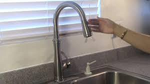 Kohler Bellera Pull Down Faucet Installation Kohler K 560 Vs Youtube