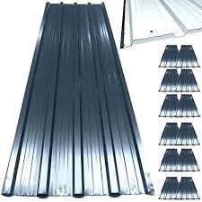 metal tin roofing sheets corrugated roof garage shed profiled panels galvanized reclaimed met