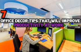 office decor tips. 7 Office Decor Tips That Will Improve Productivity At Work I