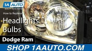 2007 Dodge Ram 2500 Fog Light Bulb Size How To Replace Headlights Bulbs 06 08 Dodge Ram