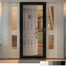 3000 series full view interchangeable aluminum storm door
