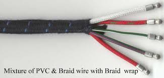 british wiring classic british car wiring harnesses and components xb mixture of both pvc and braided wire a braided wrapping see