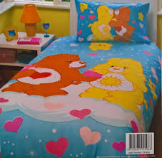care bears single bed doona duvet quilt cover twin photo frame