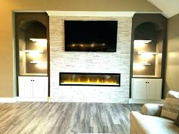 linear electric fireplace. Linear Fireplace Ideas Electric Outdoor .