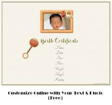 Or want to create beautiful gift certificates for your business? Free Customizable Birth Certificate Template Many Designs