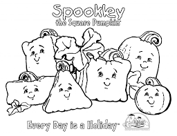 We celebrate fall, halloween and thanksgiving with pumpkins. Coloring And Activity Spookley The Square Pumpkin