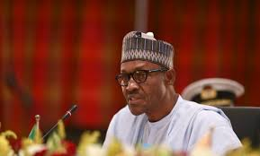 Image result for pictures of buhari with anti corruption banner