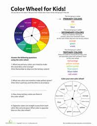 Use our printable color wheel for lots of colorful activities for little artists. Color Wheel For Kids Worksheet Education Com