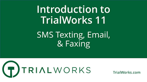 Trialworks 11 Sms Texting Email Faxing Youtube