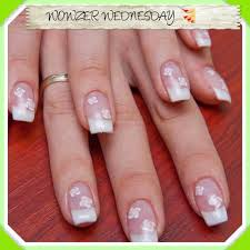 Acrylic french manicure , black and white nail art designs   Needy ...